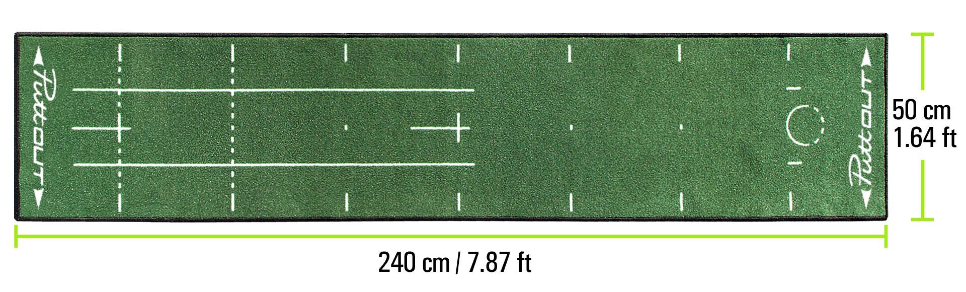 PuttOUT Mat Dimensions Green