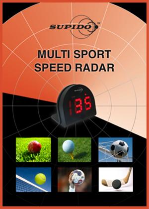 Supido Multi Sport Speed Radar