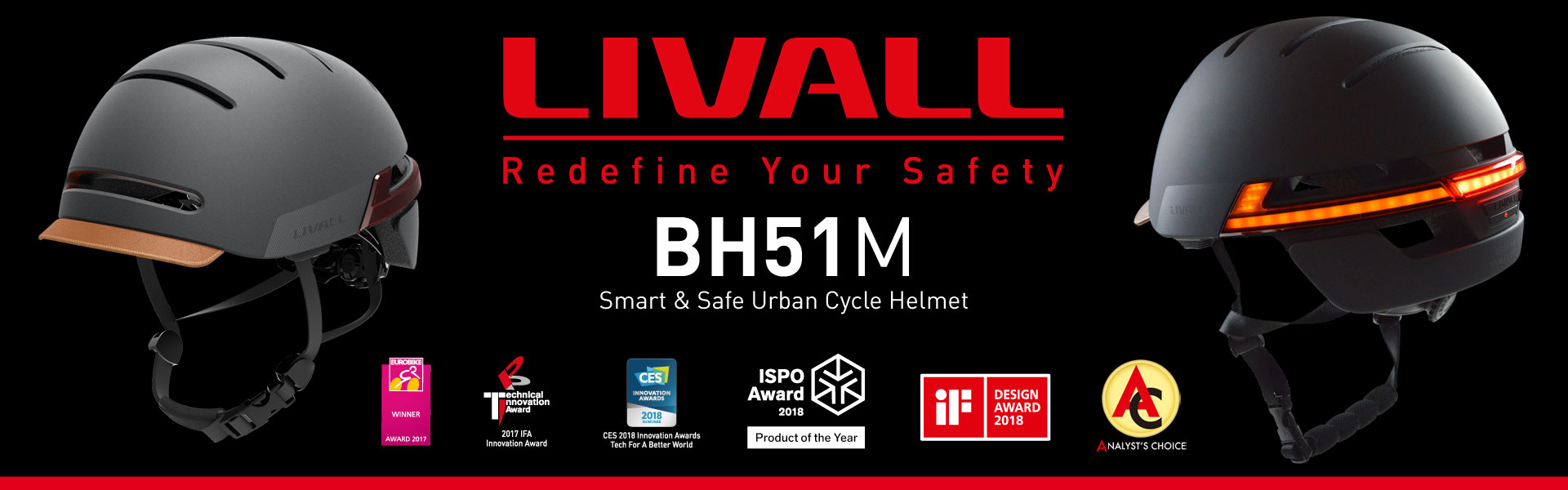 LIVALL BH51M Smart Helmet Banner