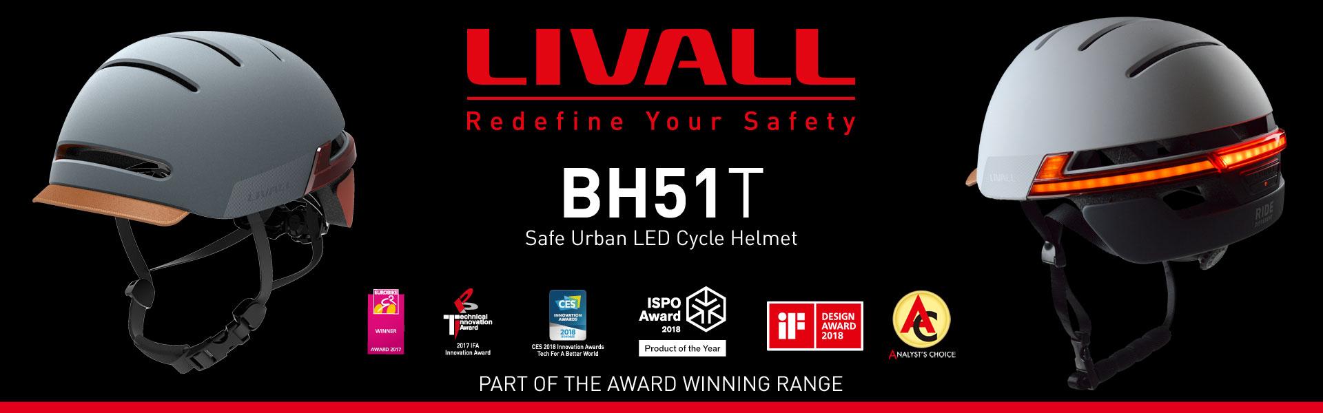 LIVALL BH51T Smart Helmet Banner