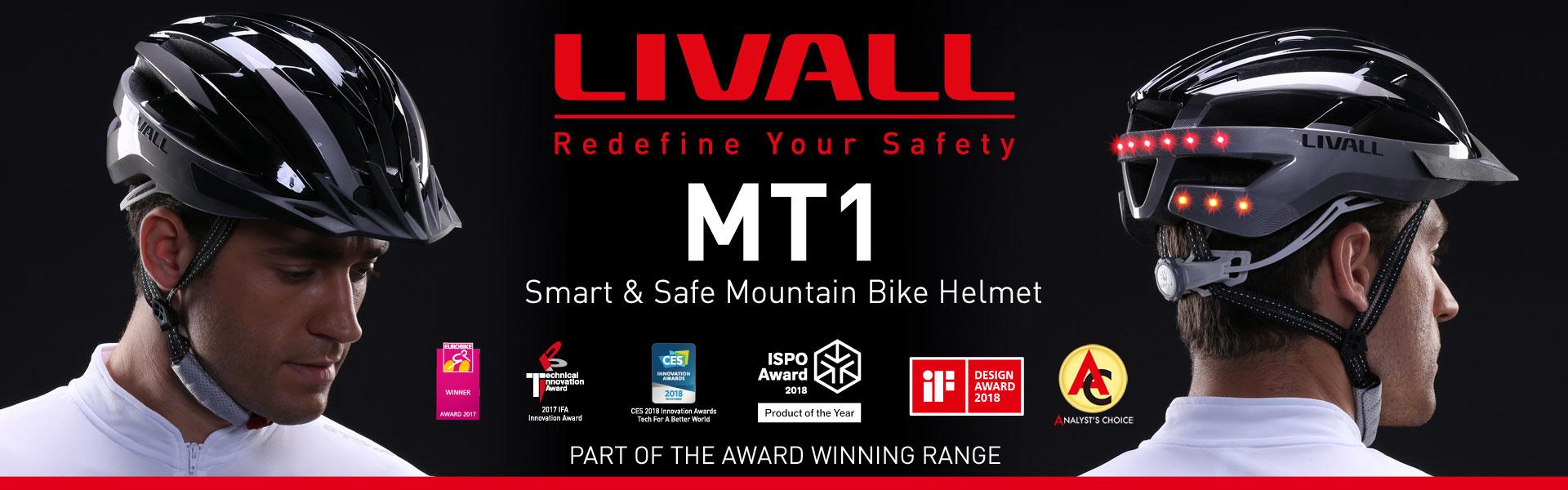 LIVALL MT1 Smart Helmet Banner