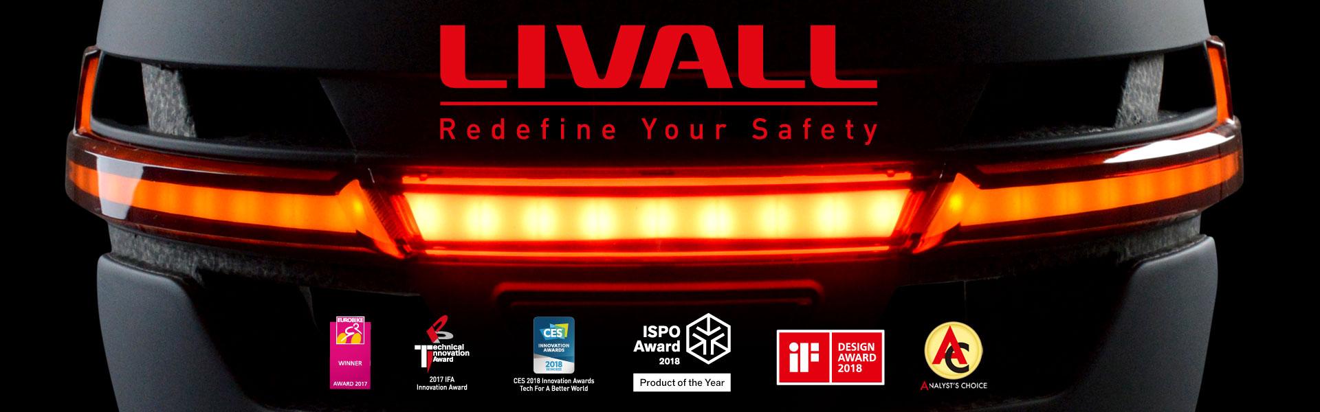 LIVALL Smart Helmets