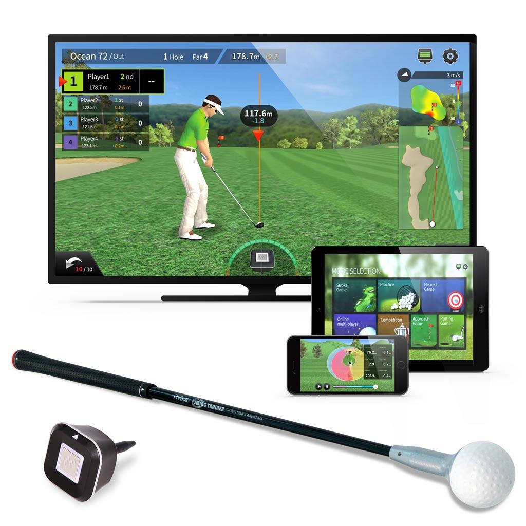 PhiGolf Smart Home Golf Simulator
