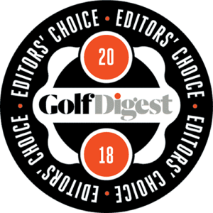 Golfers Digest Editors Choice Award 2018