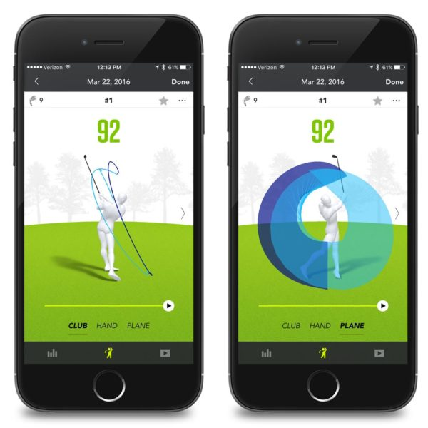 ZEPP Golf Swing Analysis