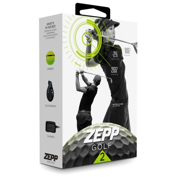 ZEPP Golf packaging