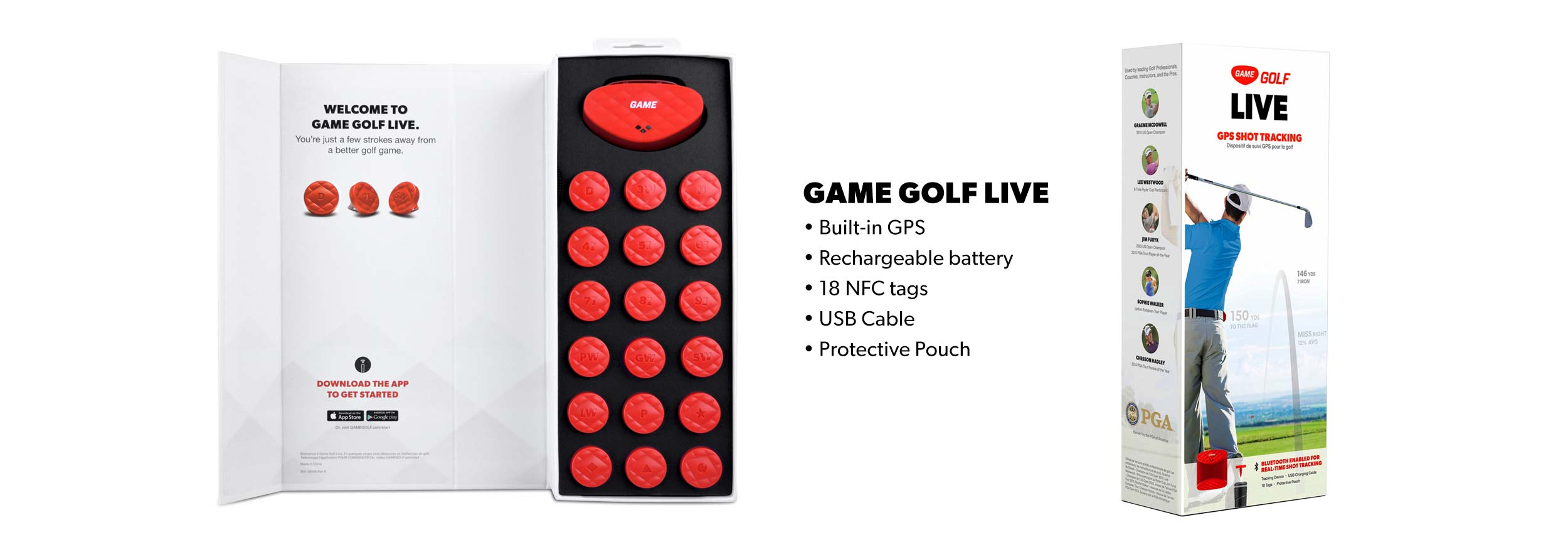 Game Golf LIVE Contents