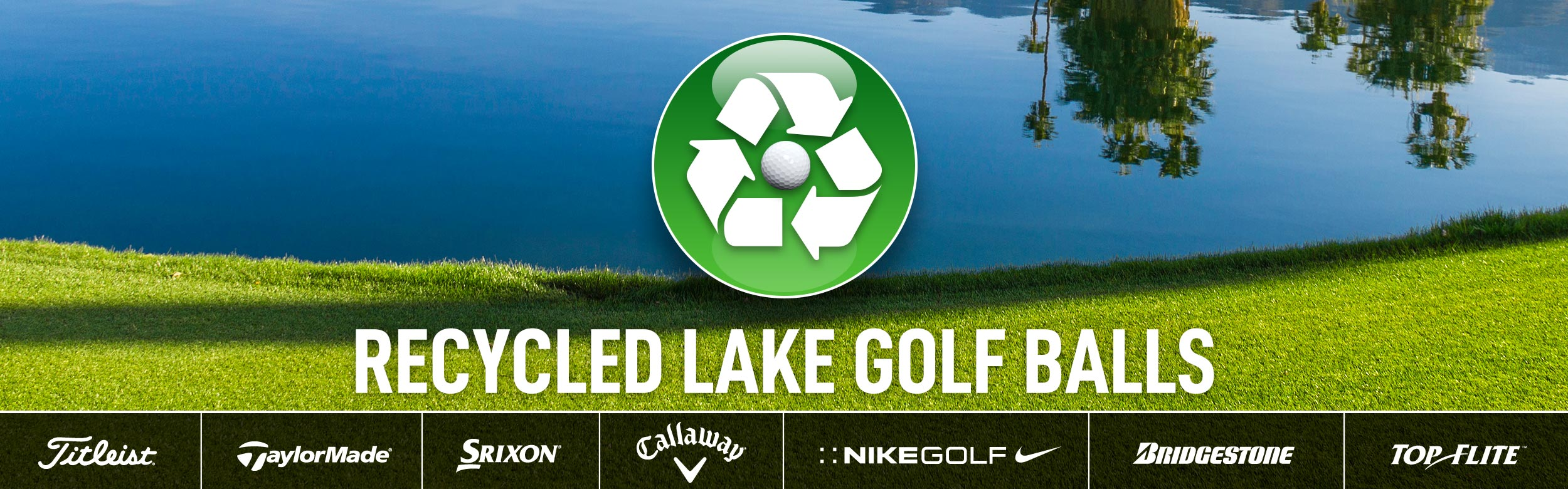 Recycled Lake Golf Balls