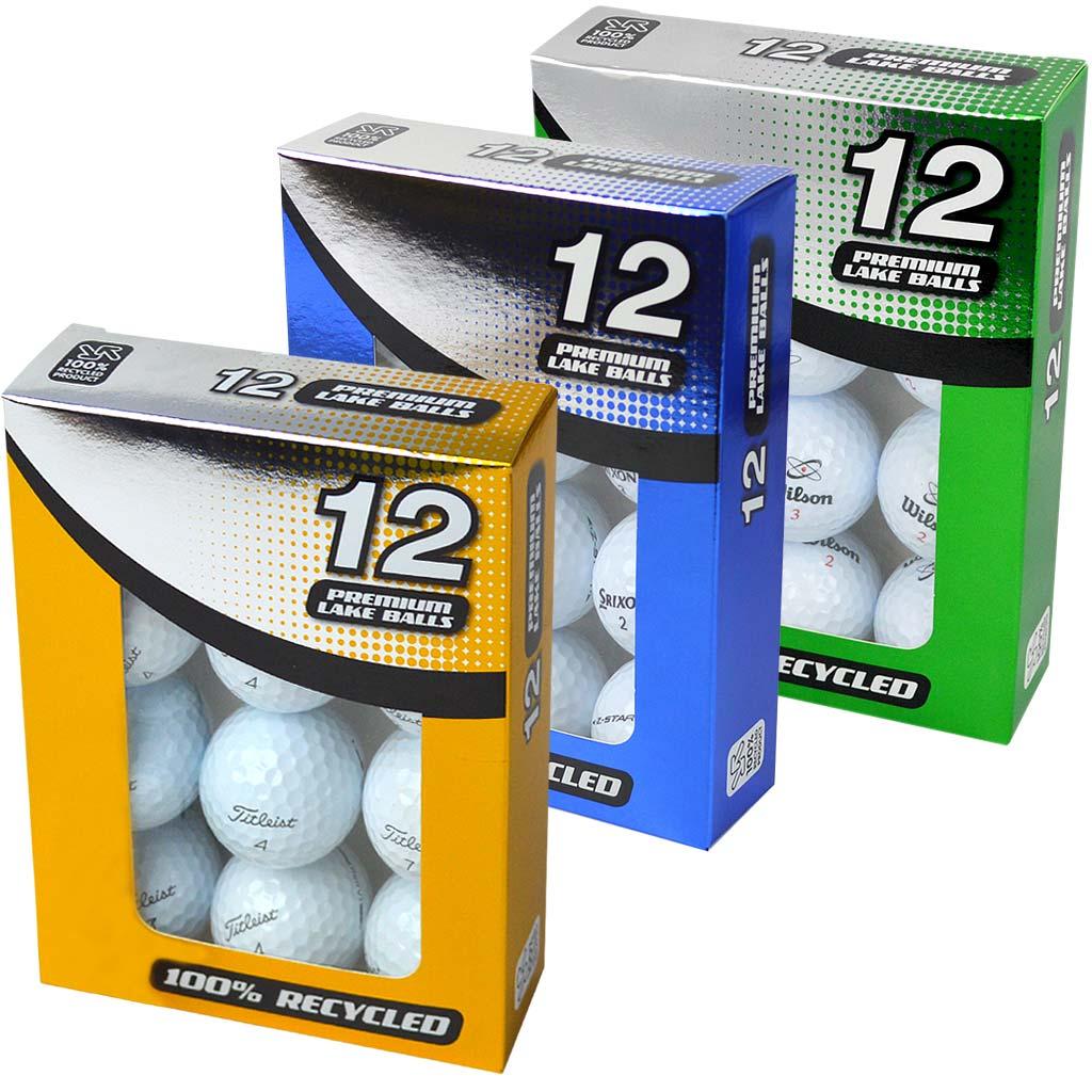 Golf Ball Retail Packaging