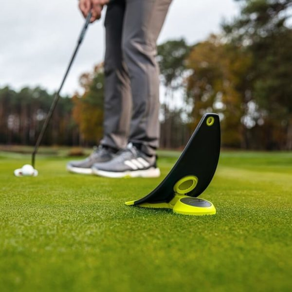 PuttOUT Premium Pressure Putt Trainer Lime Grass