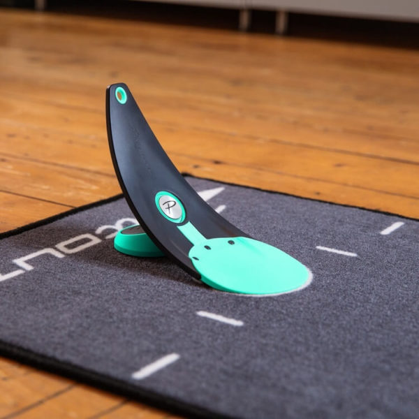 PuttOUT Premium Pressure Putt Trainer Mint on Mat